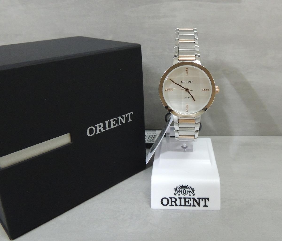 relógio orient ftss0044 s1sr - feminino prata e rose - n f. Carregando zoom. 01ffe68a6b
