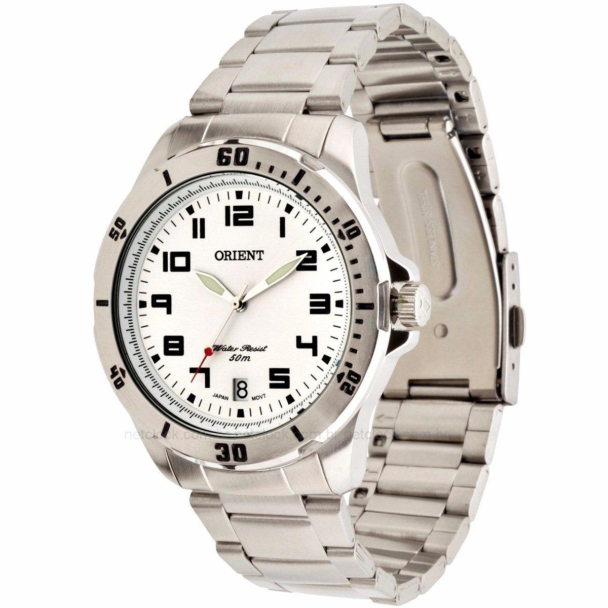 9655646e84b relógio orient masculino 1 ano garantia mbss1155a s2sx. Carregando zoom.