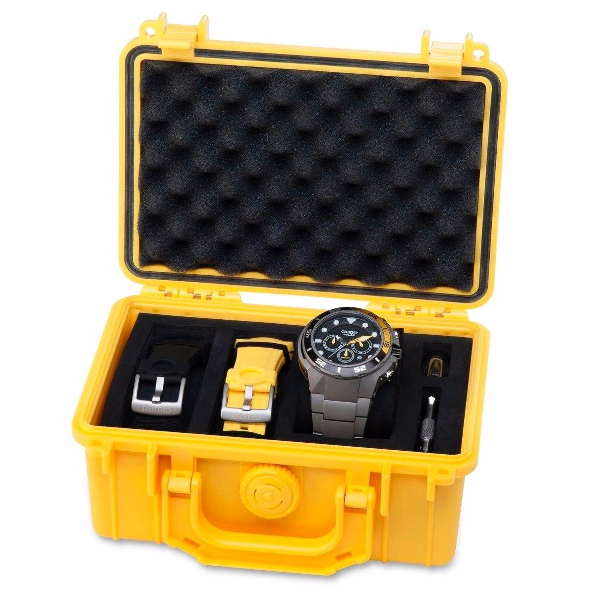 5fcc6c1cc92 Relógio Orient Masculino Seatech 500m Mbttc014 Solar Titanio - R ...