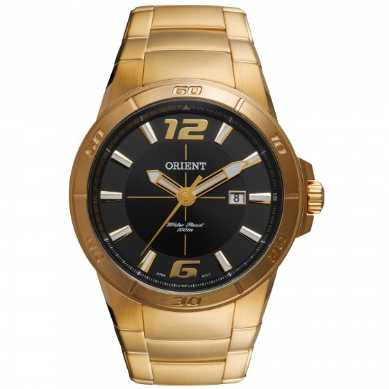 5707e781c6b Relógio Orient Mgss1083 P2kx Masculino Dourado - Refinado - R  617 ...