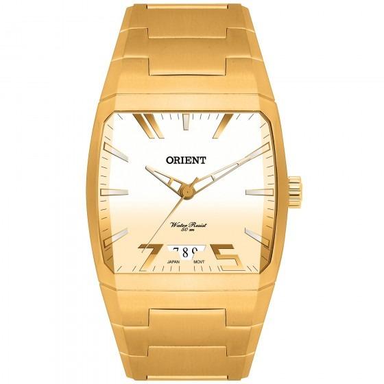 5365bc2f4bd Relógio Orient Ggss1008 C1kx Masculino Dourado - Refinado - R  507 ...