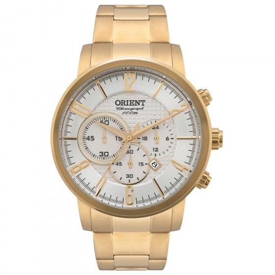 cb4ce754a05 Relógio Orient Mgssc006 S2kx Masculino Dourado - Refinado - R  815 ...