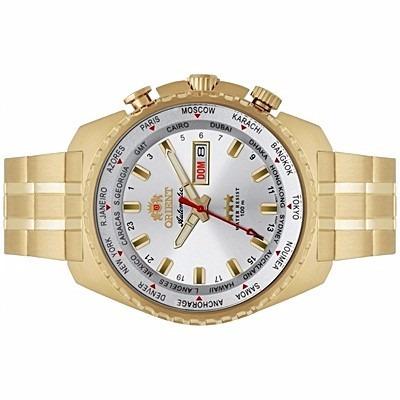a55cf4d35f8 relógio orient automático masculino dourado 469gp057 · relógio orient  masculino
