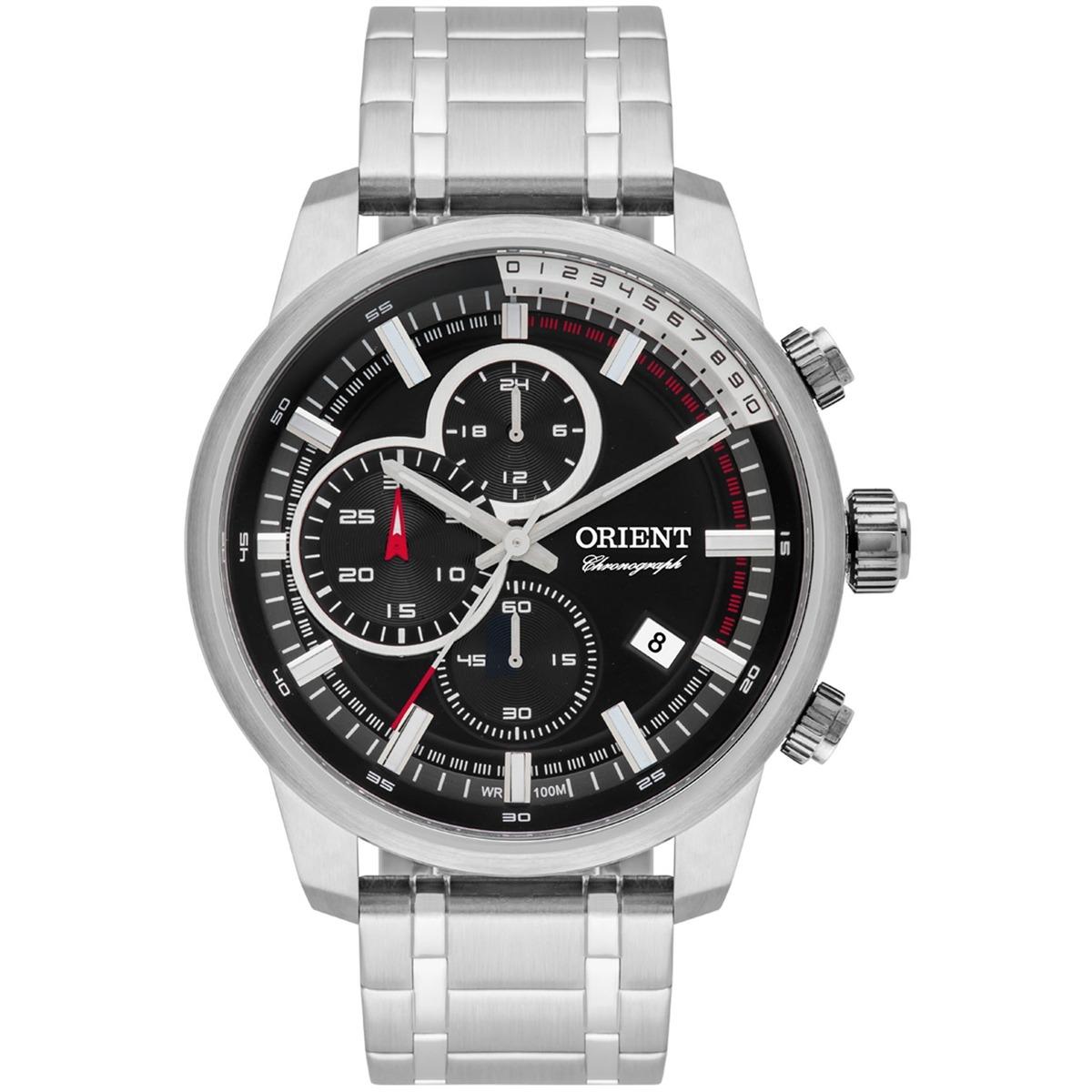 aa97f5df6b6 Relógio Orient Cronógrafo Analógico Masculino Mbssc147 P1sx - R  779 ...