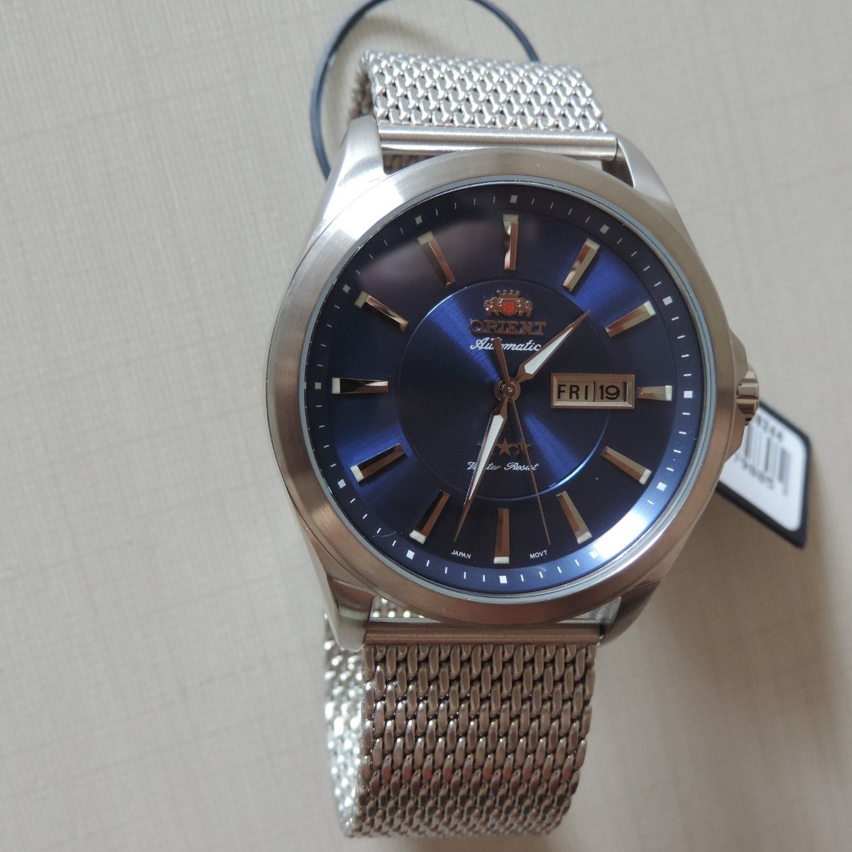 c9afa65aa52 Relógio Orient Automático 469ss056 Masculino Visor Azul Belo - R ...