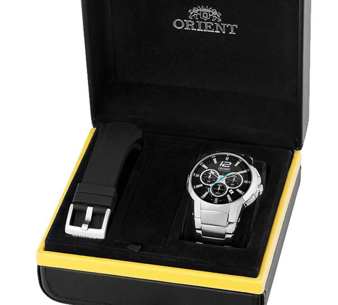 389da40a43e Relógio Orient Masculino Mbssc169 P2sx Solar Tech - R  850