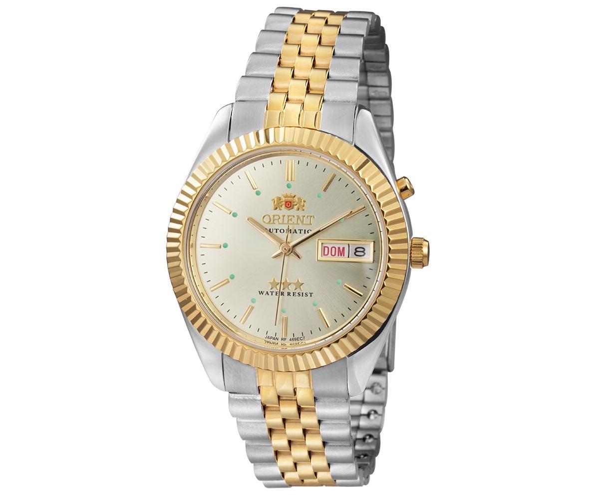 02f0030236e Relógio Orient Masculino Automático Bicolor 469ed1 C1ks + Nf - R ...