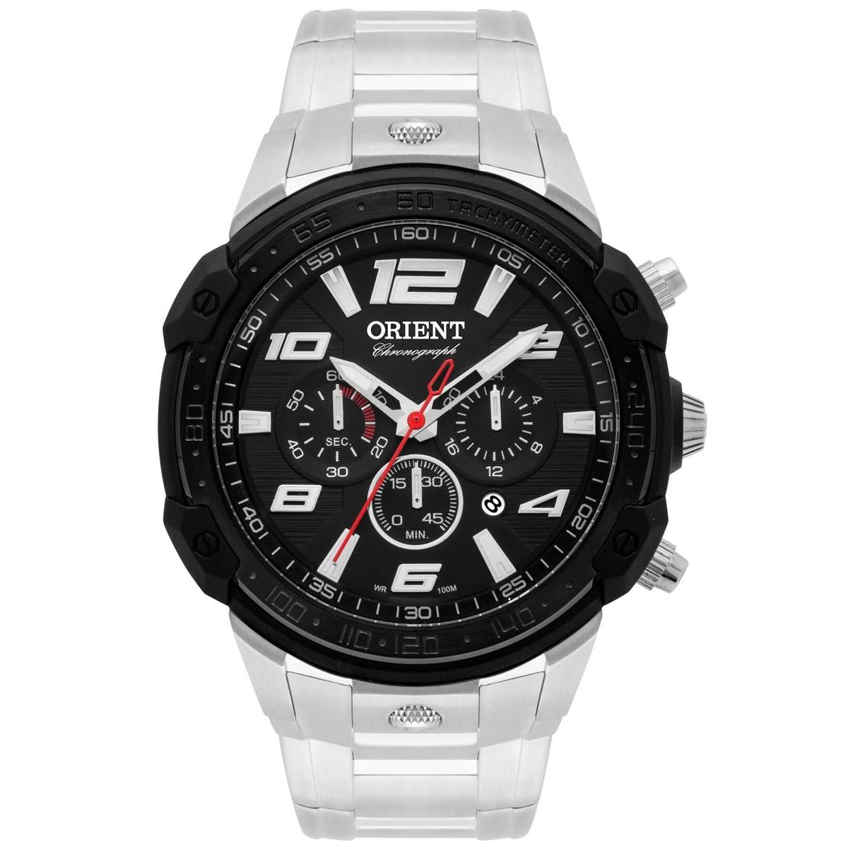 b6294385e Relógio Orient Sport Masculino Cronógrafo Analógico Mbssc172 - R ...