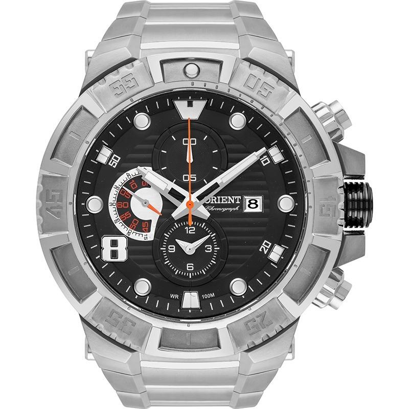 01f2aefb501 Relógio Orient Masculino Titânio Cronógrafo Mbttc012 P2gx - R  638 ...