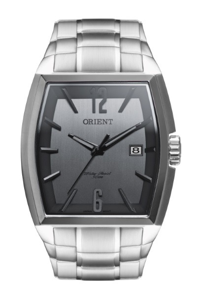 1ff4bd20eac Relógio Orient Masculino Aço Retangular 32446 - R  450
