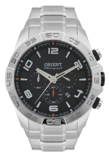 6f760a2d5a7 Relógio Orient Masculino Aço Fundo Preto 30784 - R  628