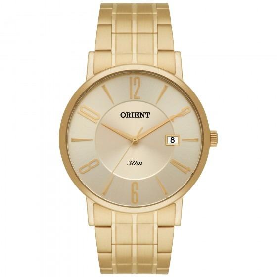bd548f0f6ea Relógio Orient Mgss1092 C2kx Masculino Dourado - Refinado - R  451 ...