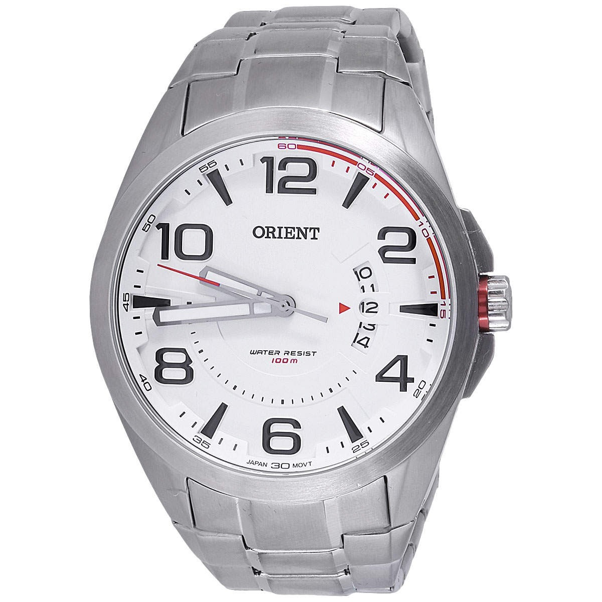 0adcb3bd51a relógio orient mbss1232 masculino sport mostrador branco · relógio orient  masculino. Carregando zoom.