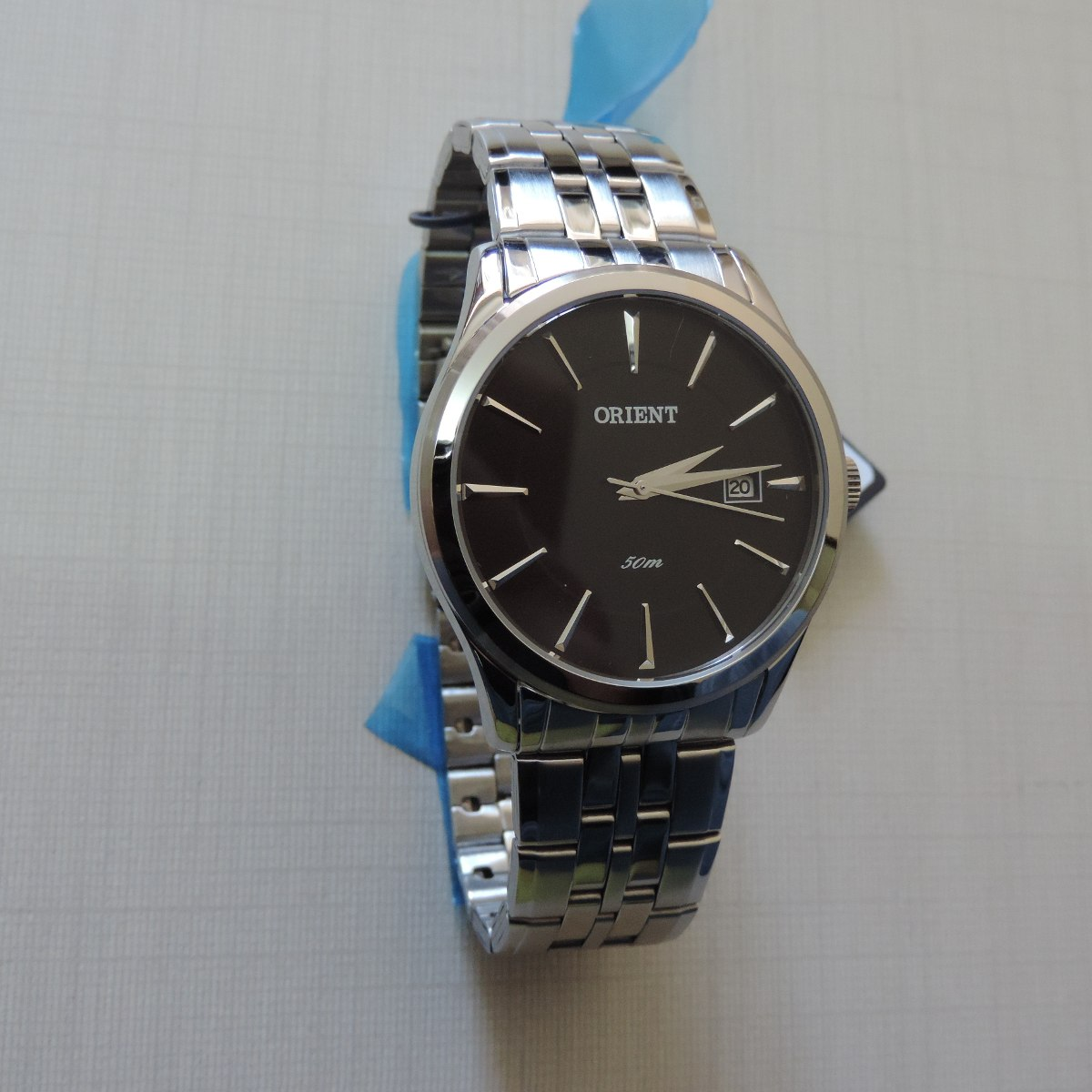 d78332aeede Relógio Orient Mbss1202 Masculino Mostrador Preto Original - R  446 ...