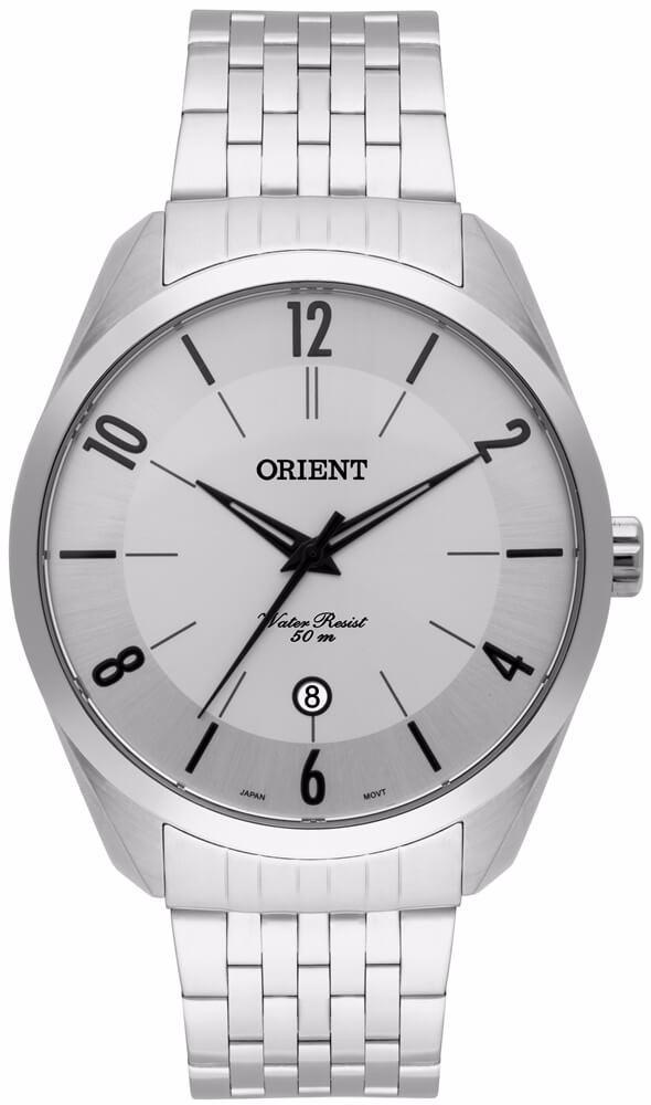 0e7d759db0a relógio orient masculino aço mbss1300 s2sx original nf. Carregando zoom.