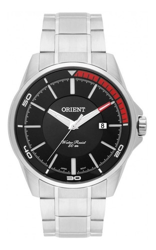 relógio orient masculino analógico aço mbss1296p1sx