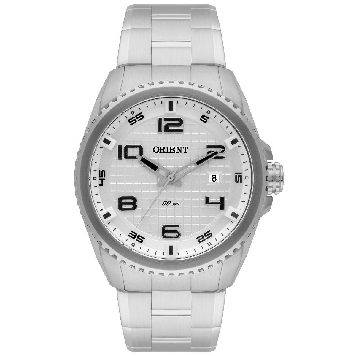 5b93449cde0 relógio orient masculino analógico esportivo mbss1260 s2sx. Carregando zoom.