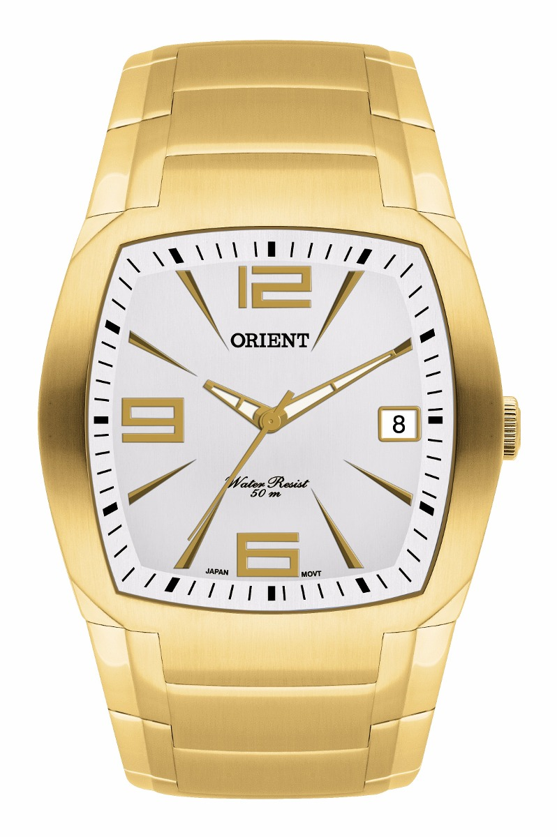 7fa0efd5444 relógio orient masculino analógico ggss1006 s2kx dourado. Carregando zoom.
