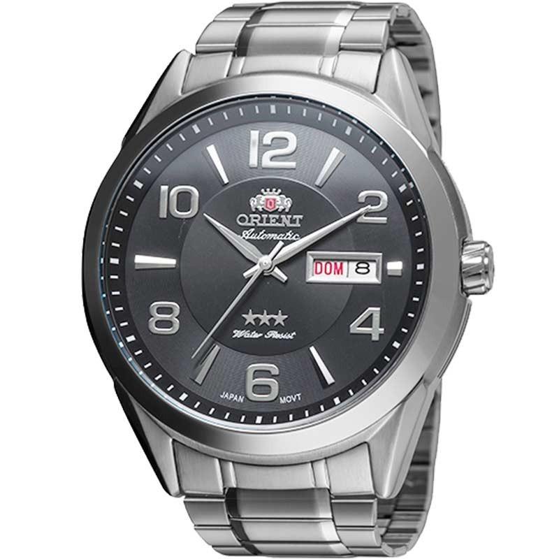 01428a035b6 relógio orient masculino automatic 469ss052 g2sx. Carregando zoom.