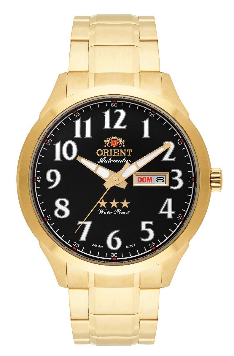 79aa782c506 relógio orient masculino automático 469gp074 p2kx c nf. Carregando zoom.