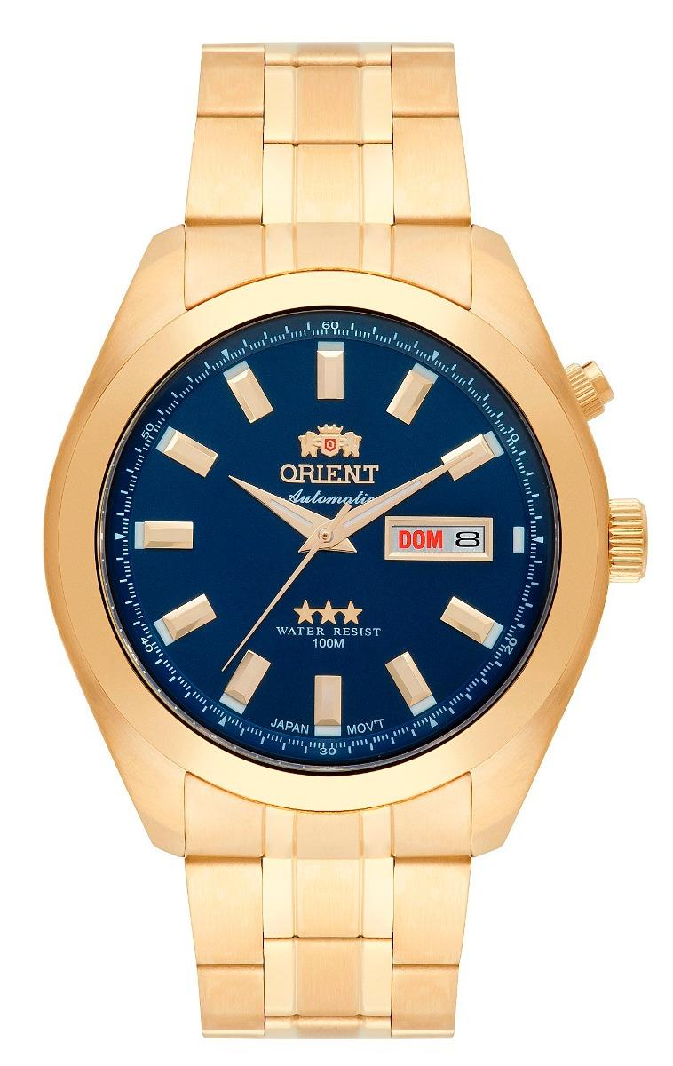 3f15414ad571b relógio orient masculino automático 469gp075 d1kx azul retro. Carregando  zoom.