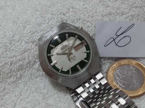 relógio orient masculino, automático, lindo (ref.23a) !