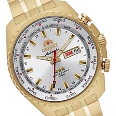 e9b819e4d7e Relógio Orient Masculino Automático Sport 469gp057 Branco - R  679 ...