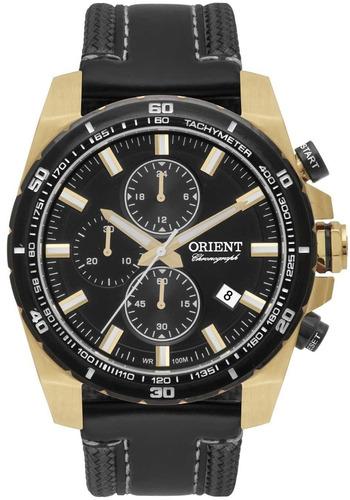 relógio orient masculino chronograph mgscc003 p1px - ( nfe )