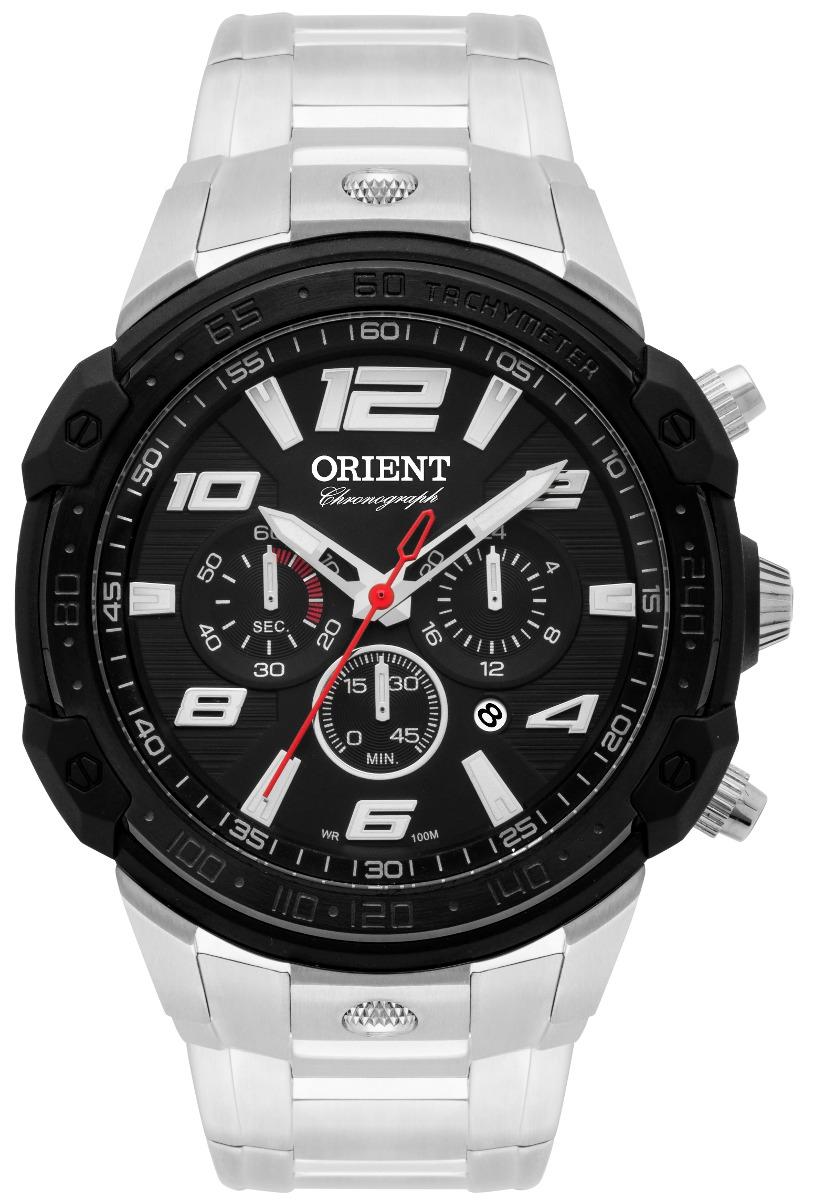 e726d60d595 Relógio Orient Masculino Cronógrafo Mbssc172 P2sx Oferta - R  648