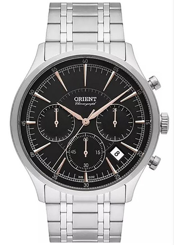 relógio orient masculino cronometro mbssc188 g1sx