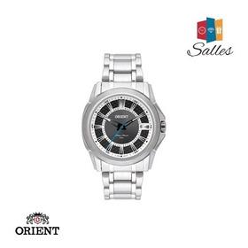 Relógio Orient Masculino Em Aço Com Calendário - Novo!