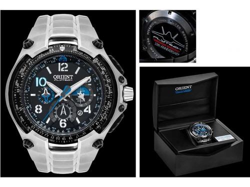 relógio orient masculino flytech mbttc016 ediçao limitada