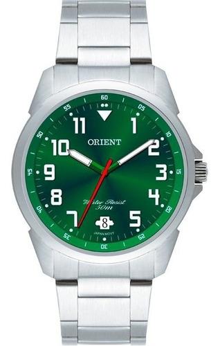 relógio orient masculino mbss1154a e2sx clássico prateado