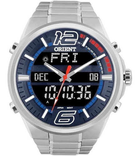 relógio orient masculino  mbssa047dvsx