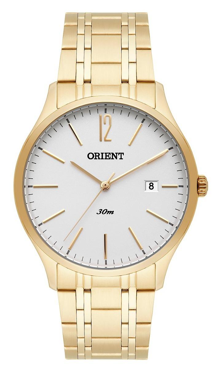 4922e1ed5da relógio orient masculino mgss1138 s2kx dourado analogico. Carregando zoom.