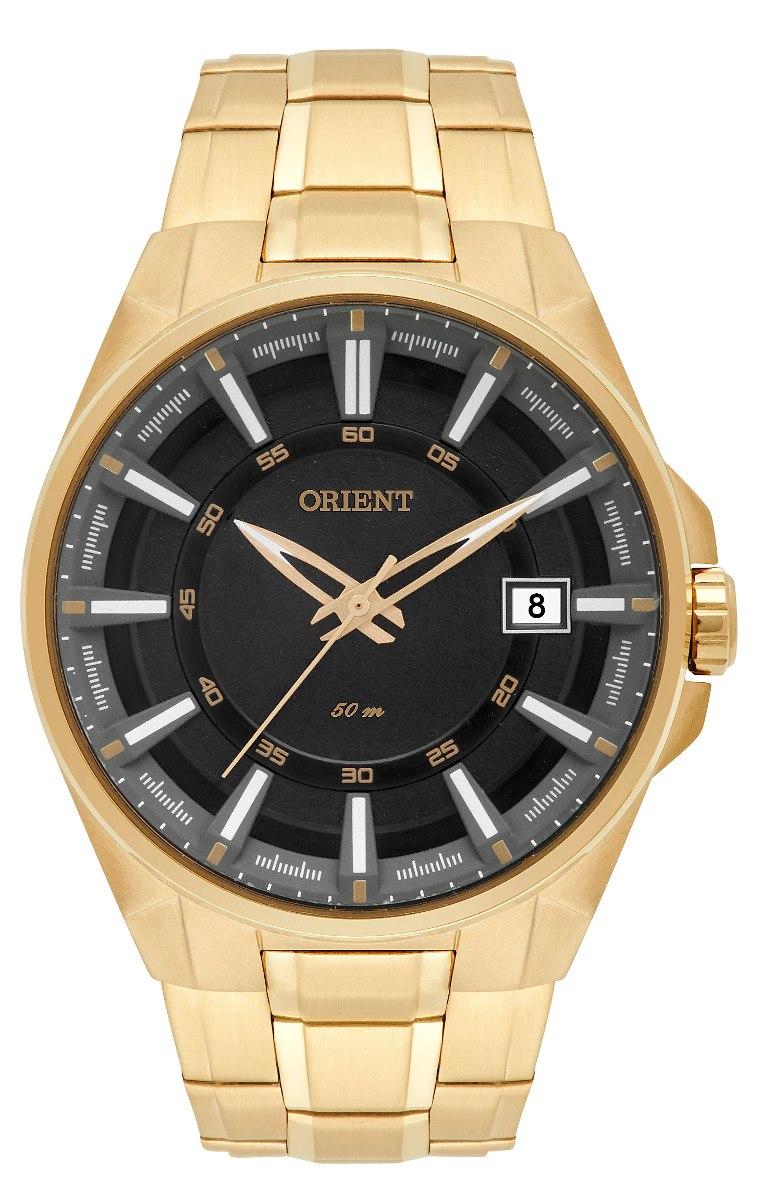 97d2b258e35 relógio orient masculino mgss1143 p1kx dourado preto. Carregando zoom.