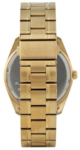 relógio orient masculino mgss1159 d2kx dourado azul
