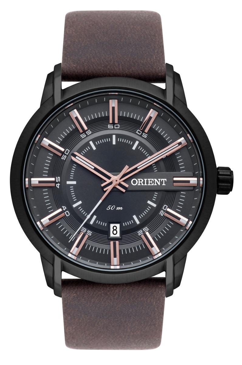 aade25dfedb relógio orient masculino mpsc1006 g1nx preto rose lançamento. Carregando  zoom.