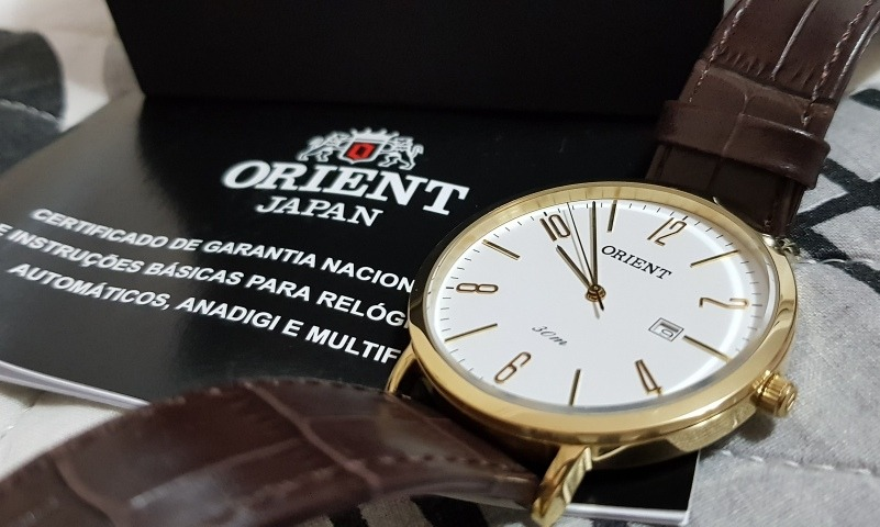 8fa050777fd relógio orient masculino - original. Carregando zoom.