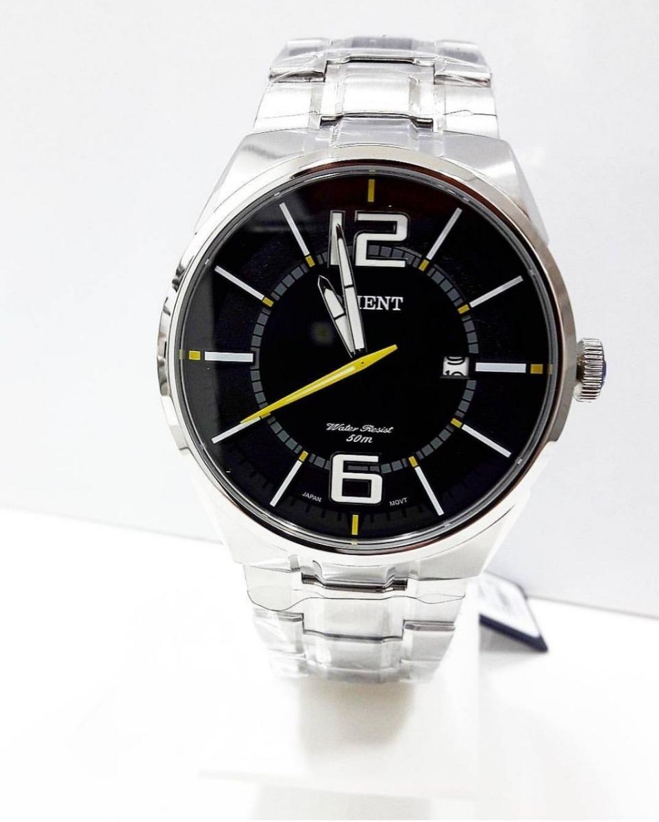 66cb3662a1c relógio orient masculino prata mbss1327. Carregando zoom.