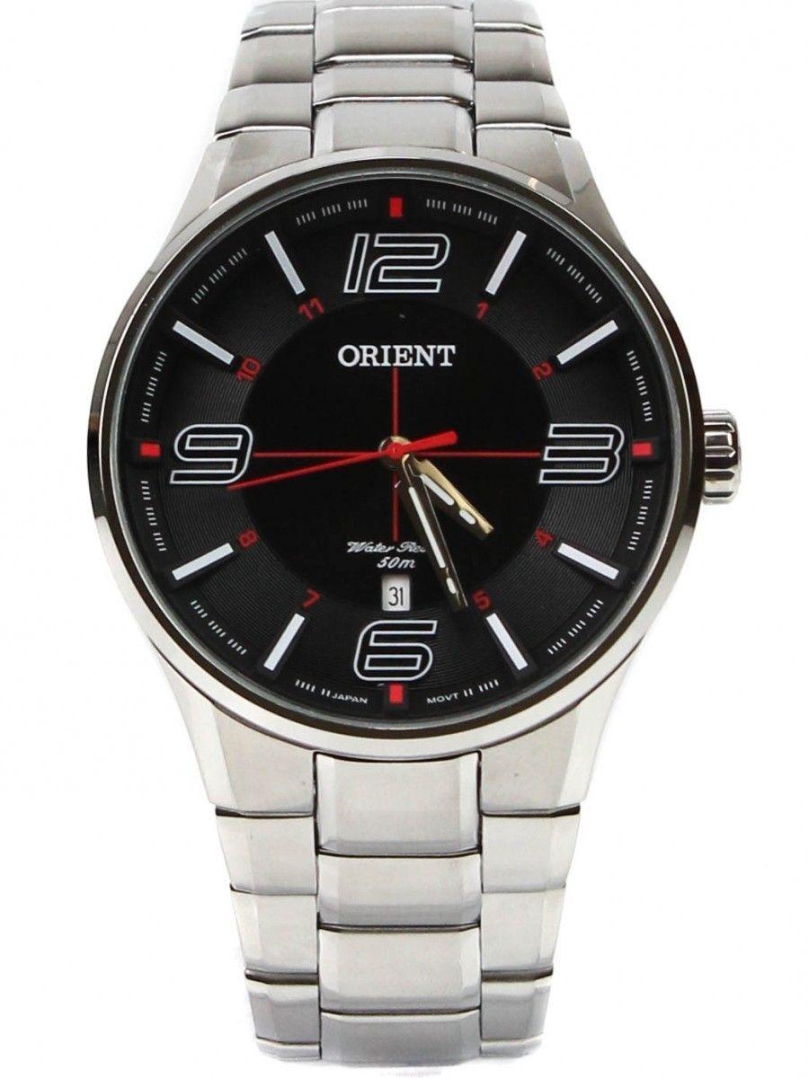 47c2d93523f relógio orient masculino prata resistência 5 atm mbss1306. Carregando zoom.