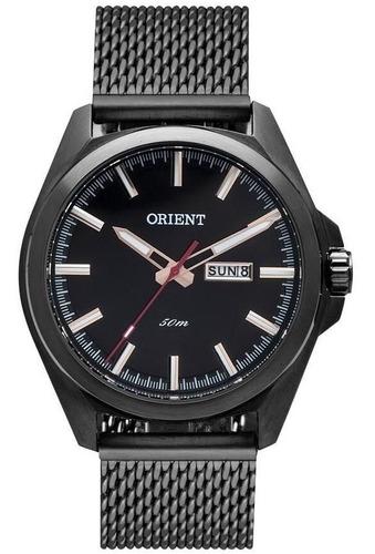 relógio orient masculino preto -  mpss2001 p1px
