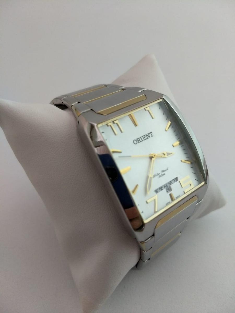 4f1466b3b4e relógio orient masculino quadrado gtss1015 c2sk. Carregando zoom.