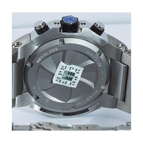 relógio orient masculino seatech kit pulseira mbttc003 p1px