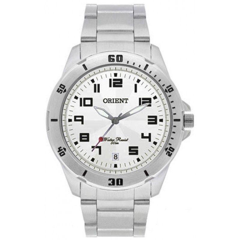 85e944352fe relógio orient mbss1155a d2sx prata masculino original c  nf. Carregando  zoom.