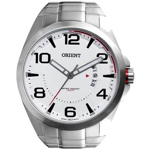 0108973fbad Relógio Orient Mbss1232 Masculino Sport Mostrador Branco - R  398