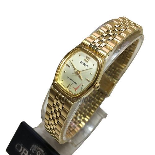 relogio orient mini dourado feminino - caixa original
