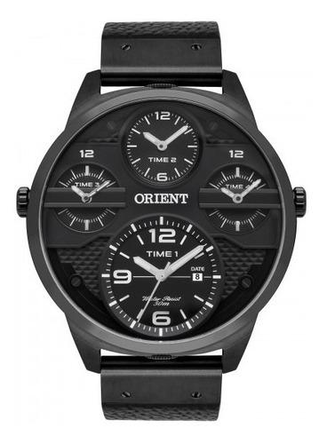 relógio orient mpsct002 p2px masculino preto - refinado