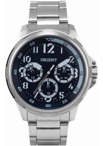 relógio orient multifunção mbssm037 - 50m novo, nf, garantia