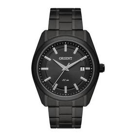 Relógio Orient Myss1008 G1gx Masculino Preto Mostrador Preto